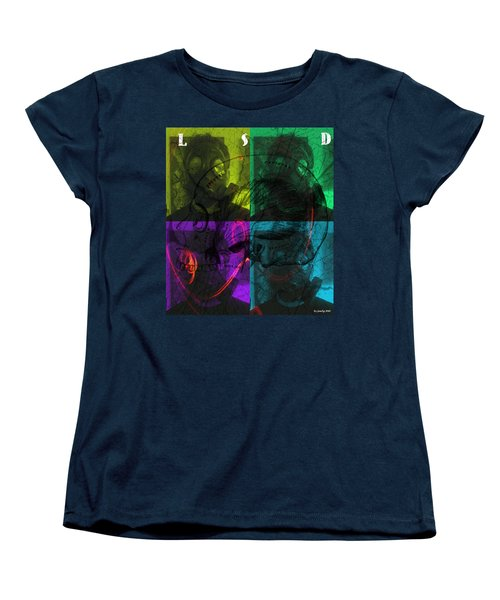 Women's T-Shirt (Standard Cut) featuring the photograph L S D  Part One by Sir Josef - Social Critic - ART