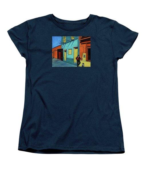 La Boca Morning II Women's T-Shirt (Standard Cut) by Xueling Zou