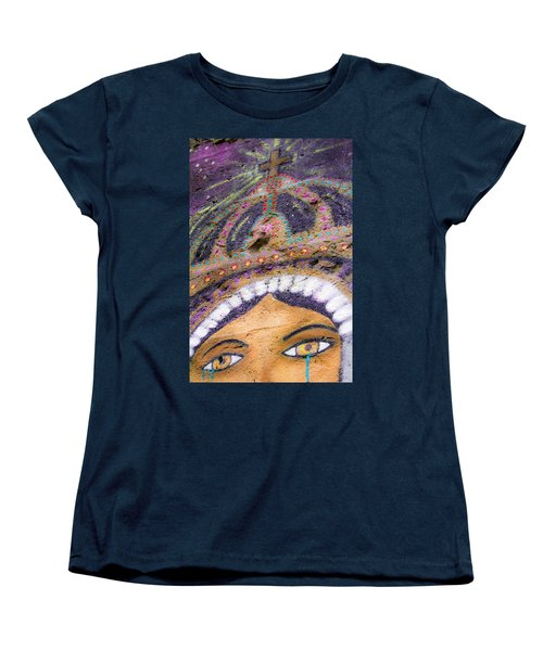 Women's T-Shirt (Standard Cut) featuring the photograph Lady Of Tears by Steven Bateson