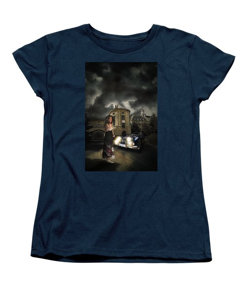 Lady Of The Night Women's T-Shirt (Standard Cut) by Nathan Wright