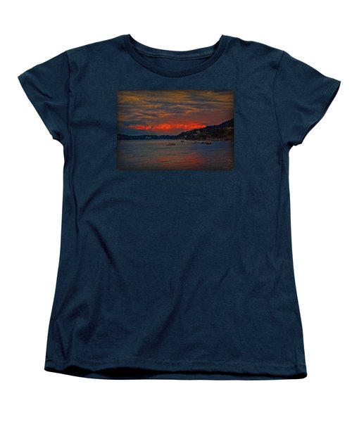 Women's T-Shirt (Standard Cut) featuring the photograph Lago Maggiore by Hanny Heim