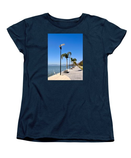 Women's T-Shirt (Standard Cut) featuring the photograph Lake Chapala - Mexico by David Perry Lawrence