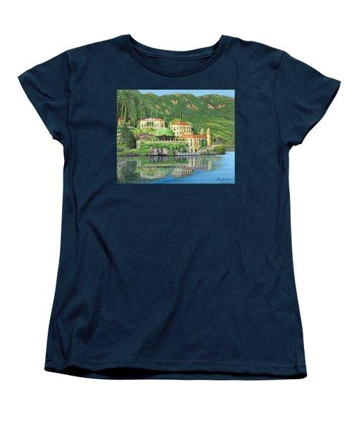 Lake Como Morning Women's T-Shirt (Standard Cut)