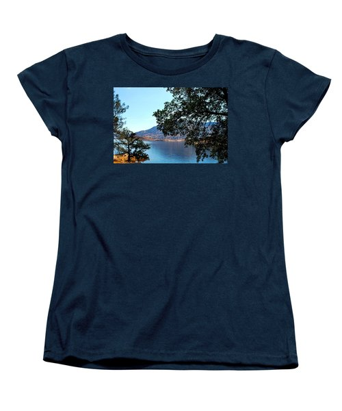 Lake Isabella Women's T-Shirt (Standard Cut) by Matt Harang