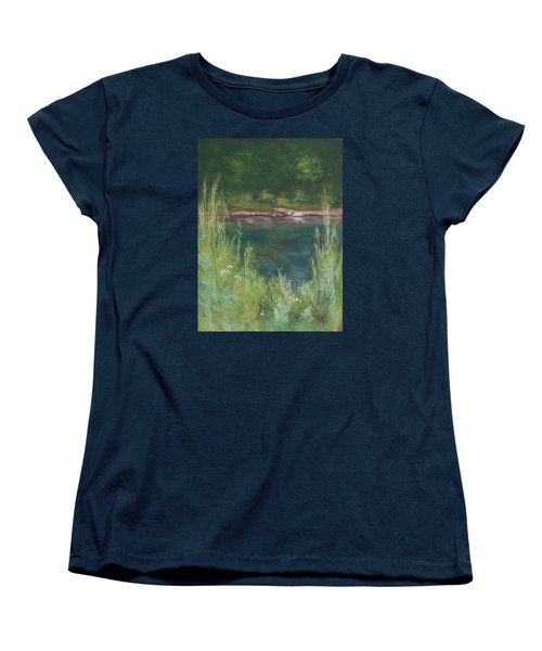 Lake Medina Women's T-Shirt (Standard Cut) by Lee Beuther