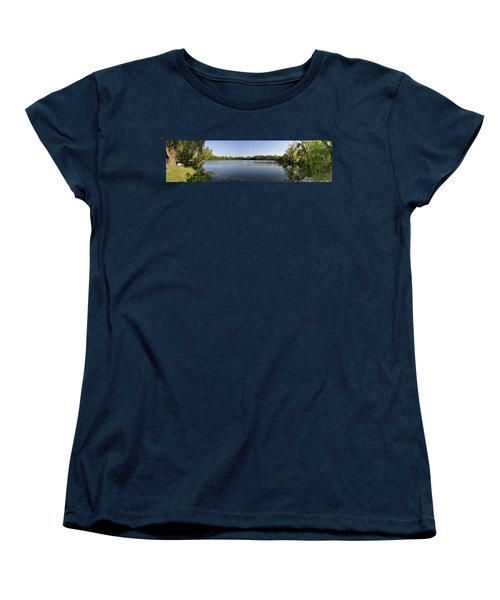 Women's T-Shirt (Standard Cut) featuring the photograph Lake Victory by Verana Stark