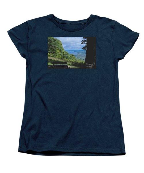 Lake Vista Women's T-Shirt (Standard Cut) by William Norton