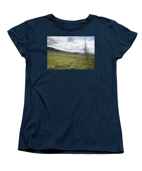 Lamar Valley No. 1 Women's T-Shirt (Standard Cut) by Belinda Greb