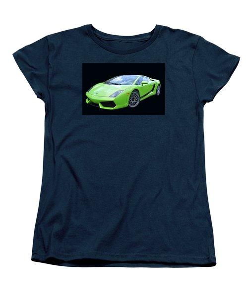 Lambourghini Salamone  Women's T-Shirt (Standard Cut) by Allen Beatty