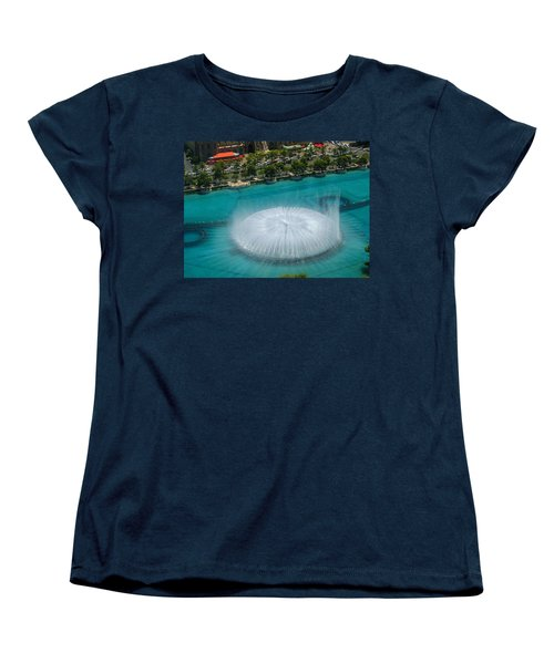Women's T-Shirt (Standard Cut) featuring the photograph Las Vegas Orb by Angela J Wright