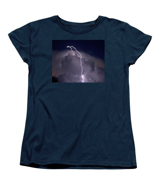 Women's T-Shirt (Standard Cut) featuring the photograph Lashing Out by Charlotte Schafer