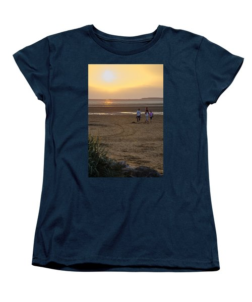 Last Colourful Days Of Summer Women's T-Shirt (Standard Cut) by Spikey Mouse Photography