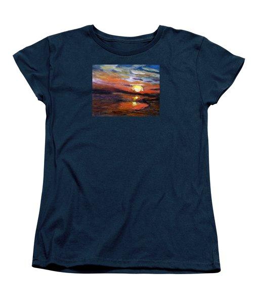 Last Sun Of Day Women's T-Shirt (Standard Cut)