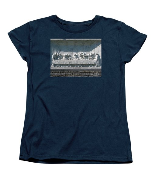 Women's T-Shirt (Standard Cut) featuring the photograph Last Supper by Greg Patzer