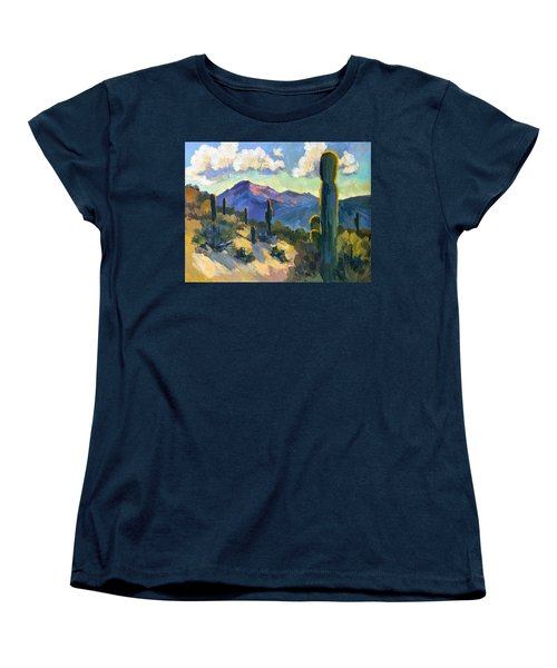 Late Afternoon Tucson Women's T-Shirt (Standard Cut) by Diane McClary