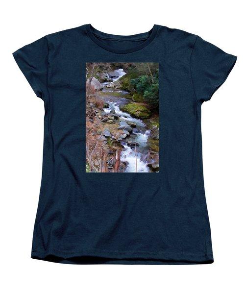 Laurel Creek  Women's T-Shirt (Standard Cut) by Tom Culver