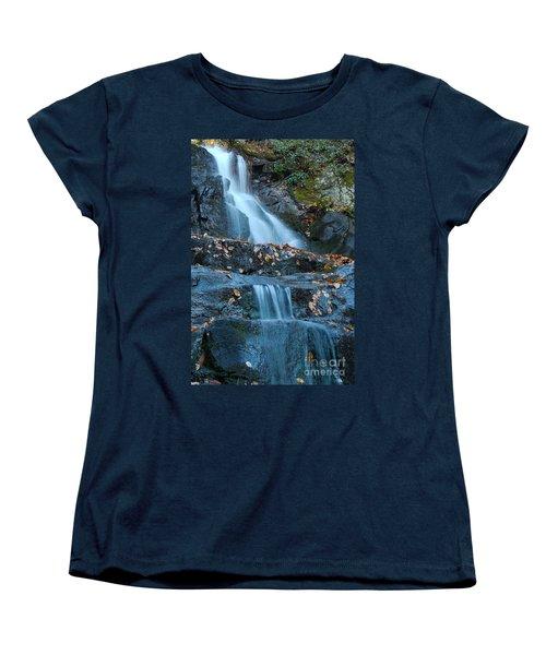 Women's T-Shirt (Standard Cut) featuring the photograph Laurel Falls by Patrick Shupert