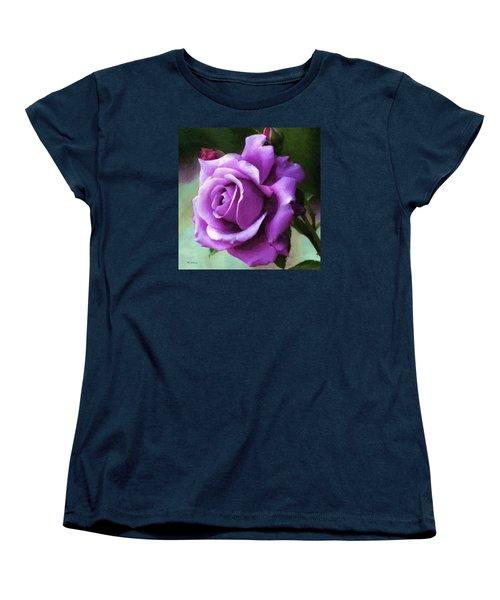 Lavender Lady Women's T-Shirt (Standard Cut) by RC deWinter