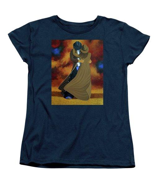 Lean On Me Women's T-Shirt (Standard Cut) by Lance Headlee