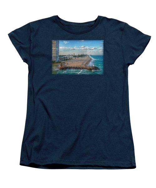 Leaving Port Everglades Women's T-Shirt (Standard Cut) by Hanny Heim