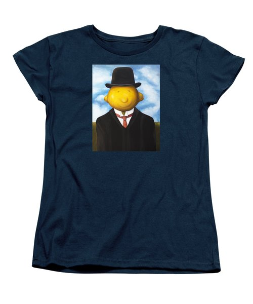 Lemon Head Women's T-Shirt (Standard Cut) by Leah Saulnier The Painting Maniac