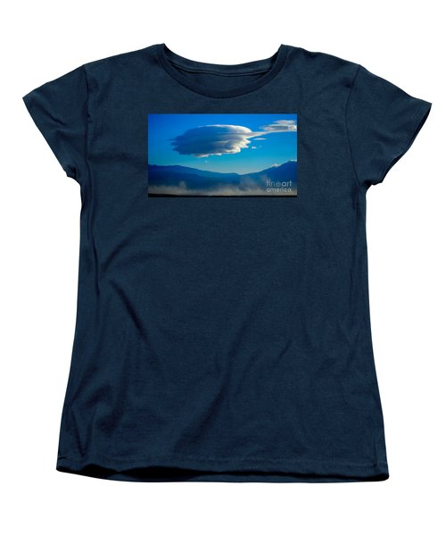 Lenticular Dust Storm Women's T-Shirt (Standard Cut) by Angela J Wright