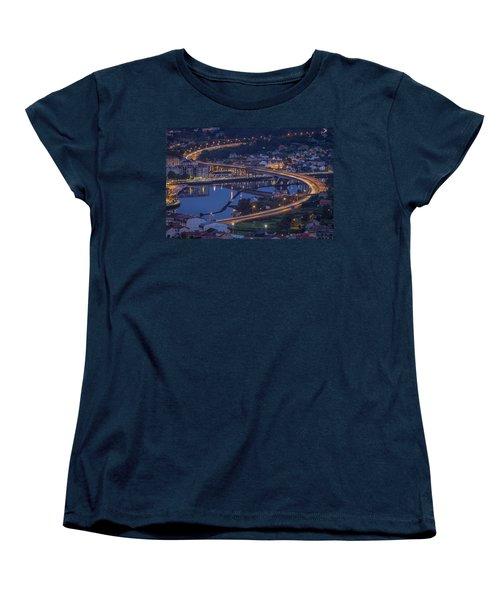Lerez River Pontevedra Galicia Spain Women's T-Shirt (Standard Cut) by Pablo Avanzini