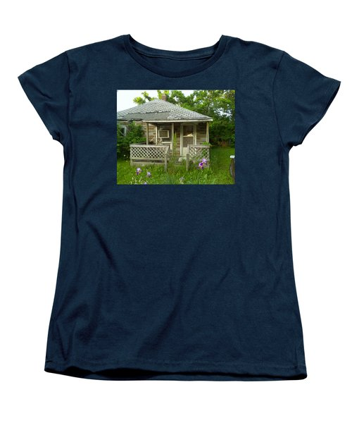 Women's T-Shirt (Standard Cut) featuring the photograph Life Goes On by Fortunate Findings Shirley Dickerson
