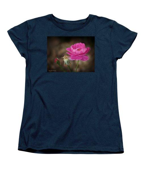 Women's T-Shirt (Standard Cut) featuring the photograph Life by Lucinda Walter
