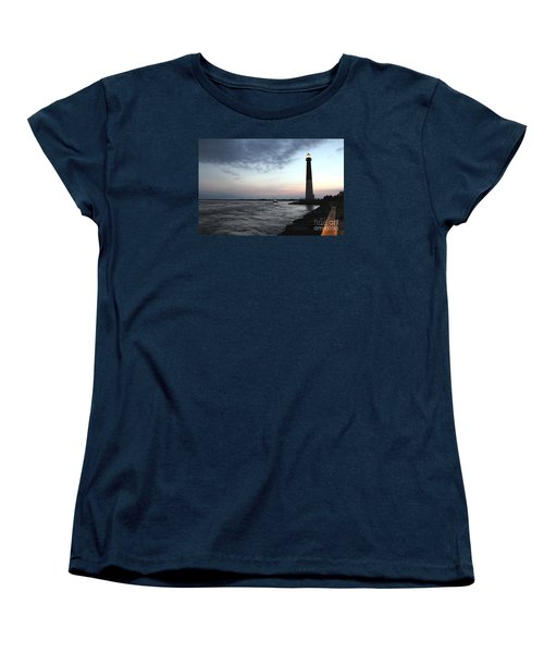 Women's T-Shirt (Standard Cut) featuring the photograph Light At Dawn by David Jackson