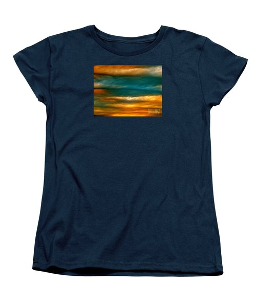 Light Upon Darkness Women's T-Shirt (Standard Cut) by Joy Hardee