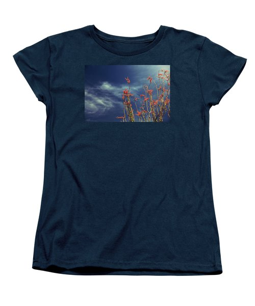 Like Flying Amongst The Clouds Women's T-Shirt (Standard Cut) by Laurie Search