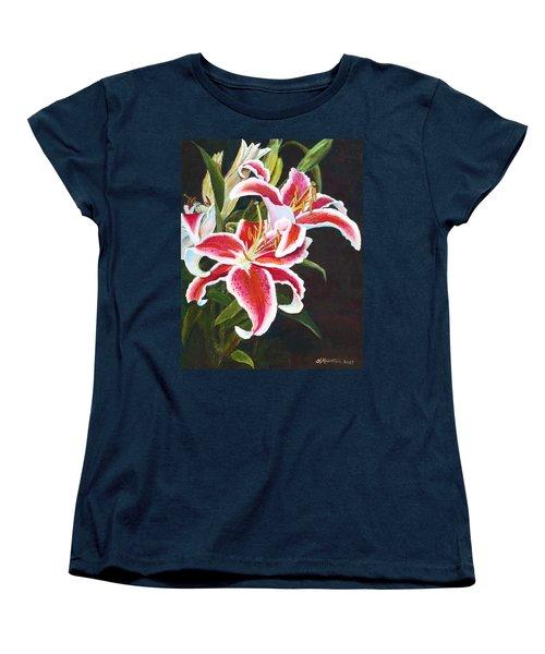 Lilli's Stargazers Women's T-Shirt (Standard Cut) by Harriett Masterson