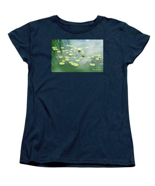 Women's T-Shirt (Standard Cut) featuring the photograph Lilly Pads by Erika Weber