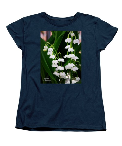Lily Of The Valley Women's T-Shirt (Standard Cut) by Lainie Wrightson