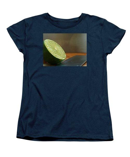 Women's T-Shirt (Standard Cut) featuring the photograph Lime Blade by Joe Schofield
