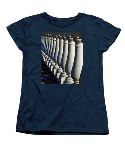 Lineup Women's T-Shirt (Standard Cut) by Lisa Phillips