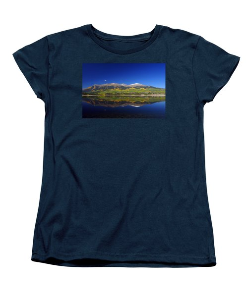 Liquid Mirror Women's T-Shirt (Standard Cut) by Jeremy Rhoades