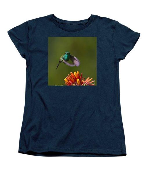 Little Hedgehopper Women's T-Shirt (Standard Cut) by Heiko Koehrer-Wagner