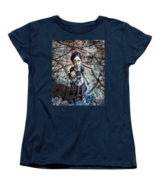 Little Sister Women's T-Shirt (Standard Cut) by Joe Misrasi