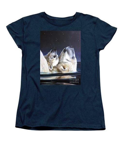 Little Star Women's T-Shirt (Standard Cut) by Sandi Baker