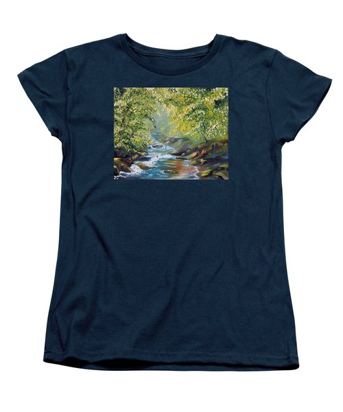 Living Water Women's T-Shirt (Standard Cut) by Meaghan Troup