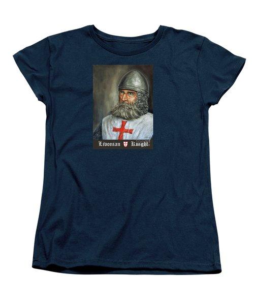 Knight Templar Women's T-Shirt (Standard Cut) by Arturas Slapsys