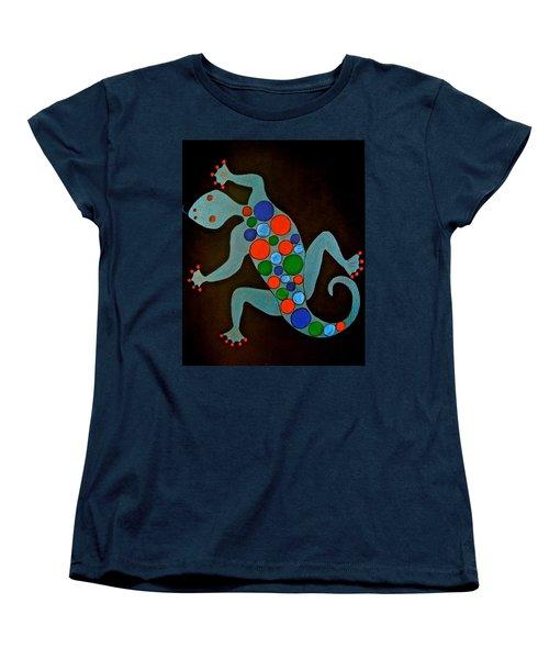 Lizard Women's T-Shirt (Standard Cut) by Stephanie Moore