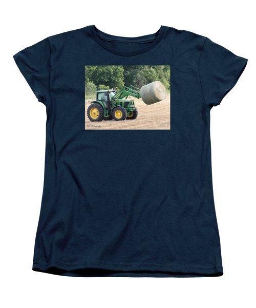 Loading Hay Women's T-Shirt (Standard Cut) by J McCombie