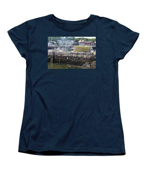 Women's T-Shirt (Standard Cut) featuring the photograph New England Lobster by Eunice Miller