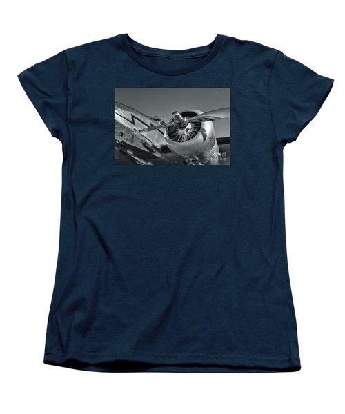 Lockheed 12a Electra Junior  Women's T-Shirt (Standard Cut) by Olga Hamilton