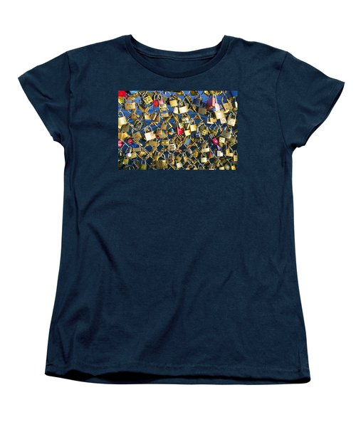 Locks Of Love Women's T-Shirt (Standard Cut) by Hugh Smith