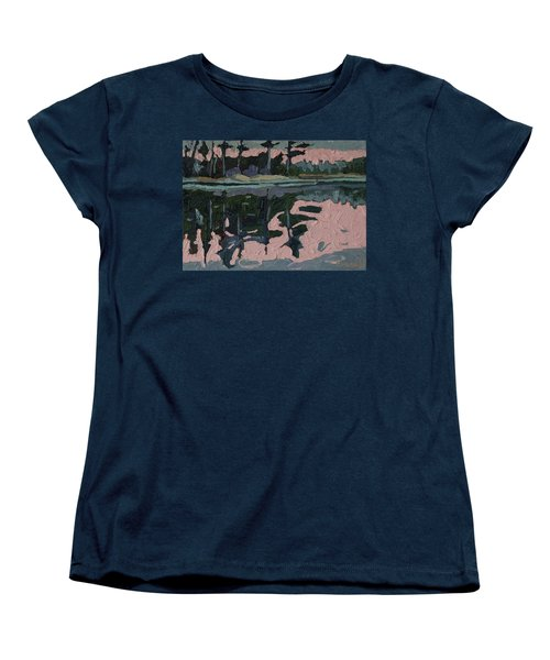 Long Reach Rain Women's T-Shirt (Standard Cut) by Phil Chadwick