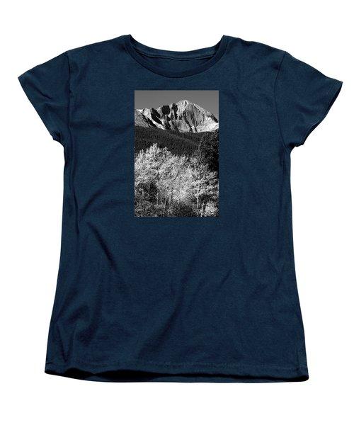 Longs Peak 14256 Ft Women's T-Shirt (Standard Cut) by James BO  Insogna